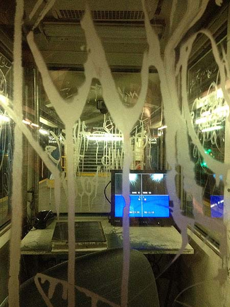 subway worker's station, brooklyn