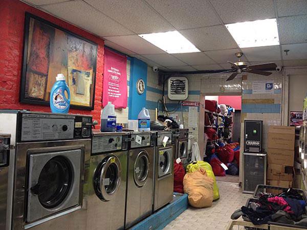 dirty laundrymat.