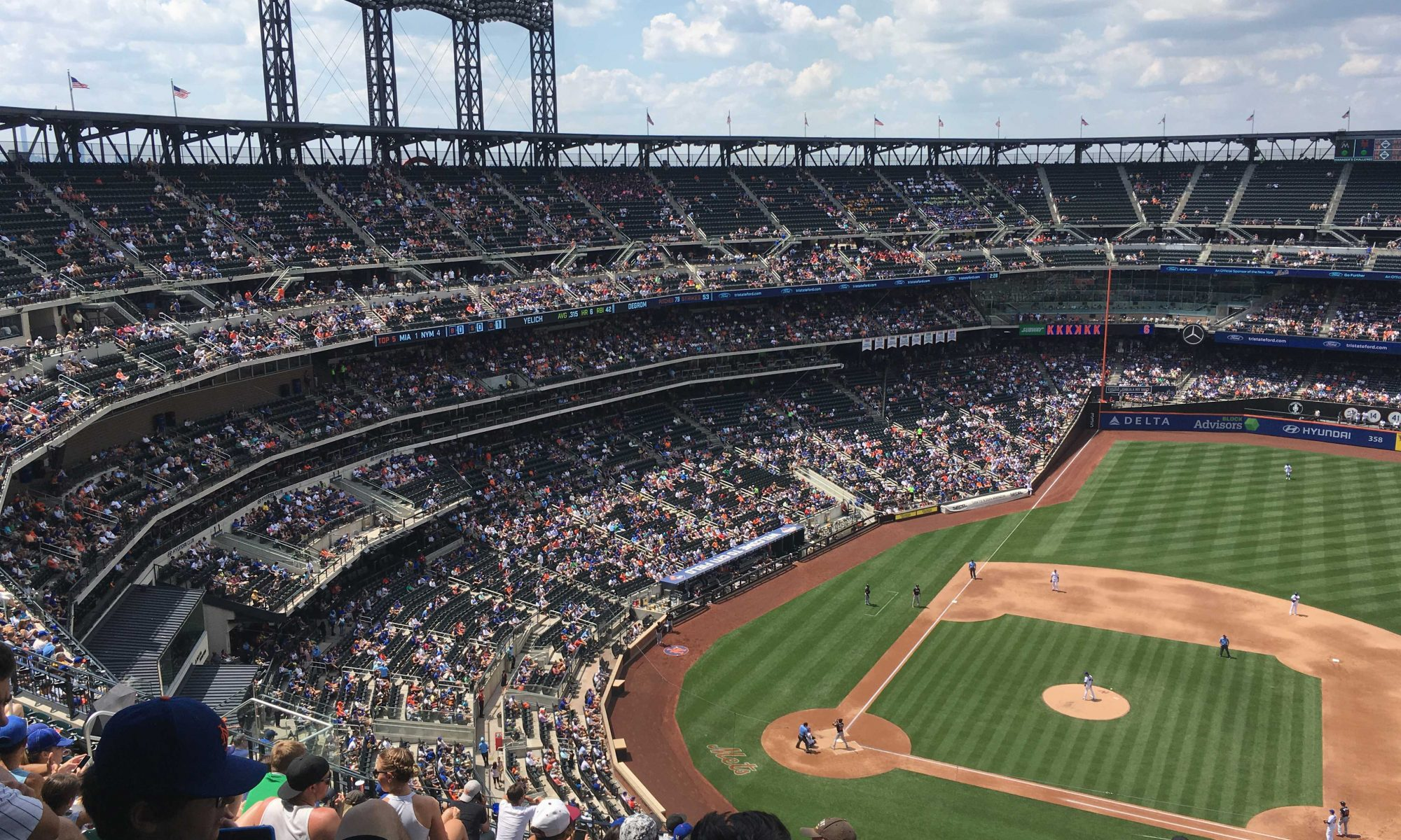 NY Mets game, summer 2016