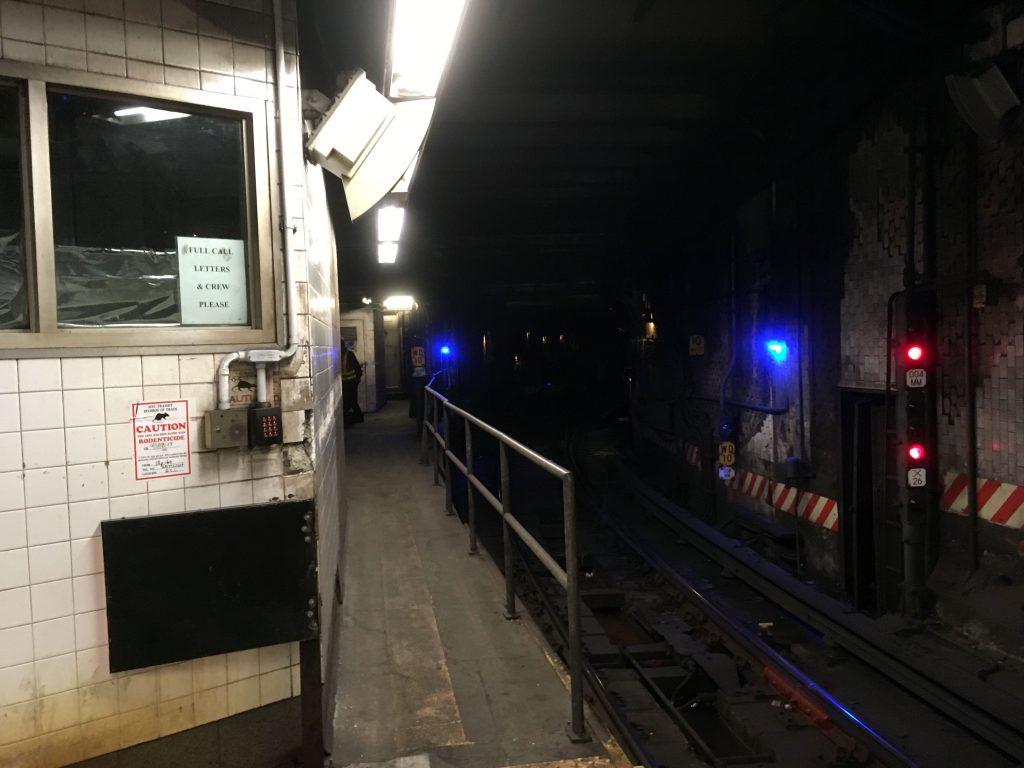subway station, City Hall