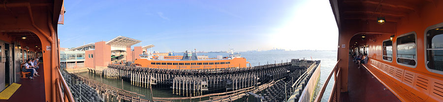 Staten Island Ferry observation deck