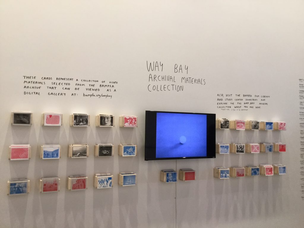 view of WayBay installation at BAM/PFA museum