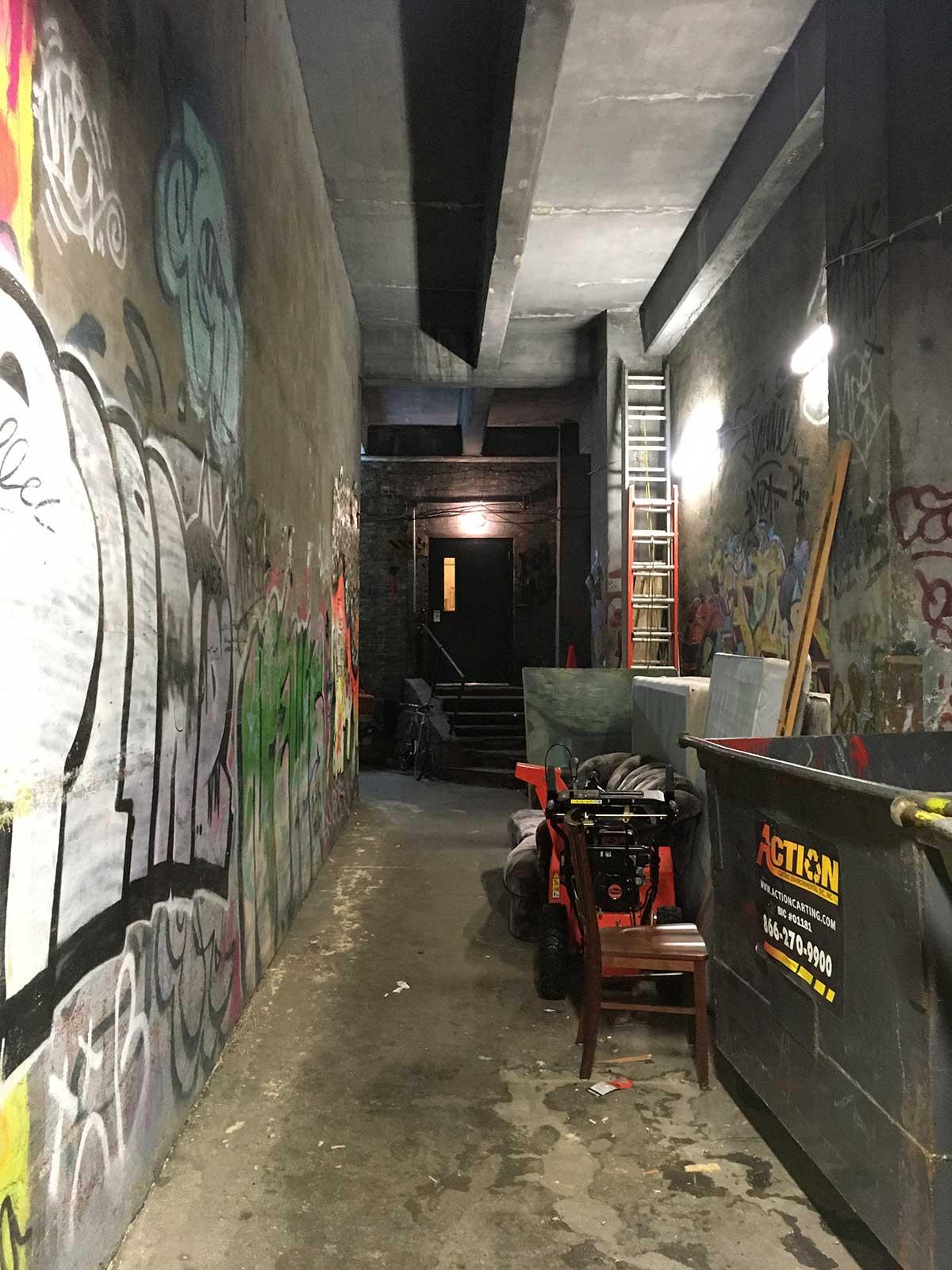 Williamsburg loft space, pre-gentrificaiton