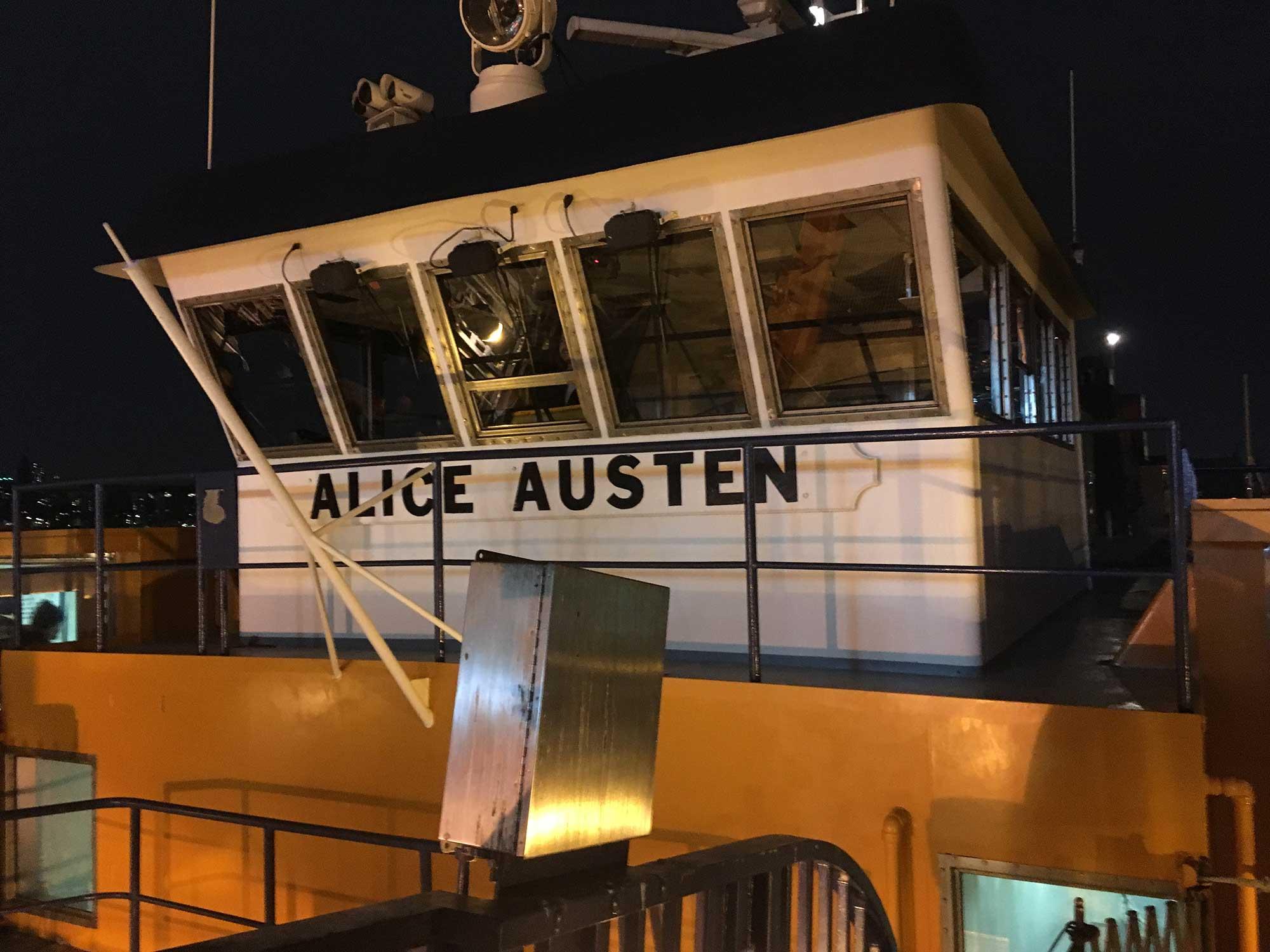 The Alice Austen, Staten Island Ferry