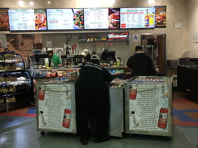 Food stand, Whitehall Terminal