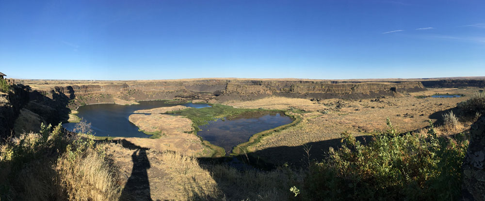 Northrup Canyon near Sun Lakes-Dry Falls, WA