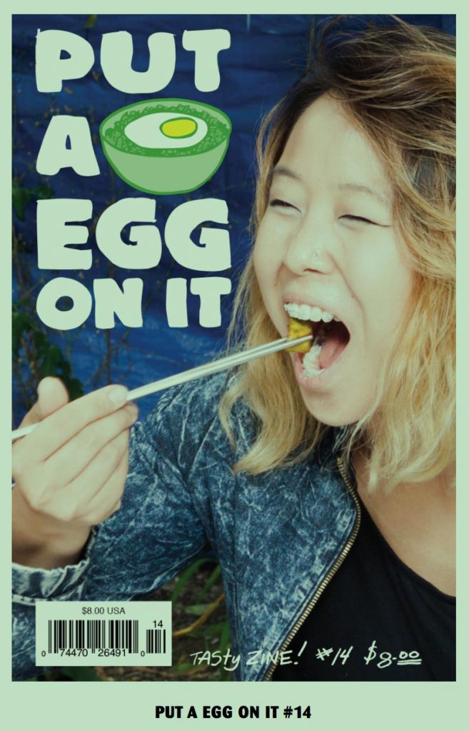 Put An Egg On It magazine