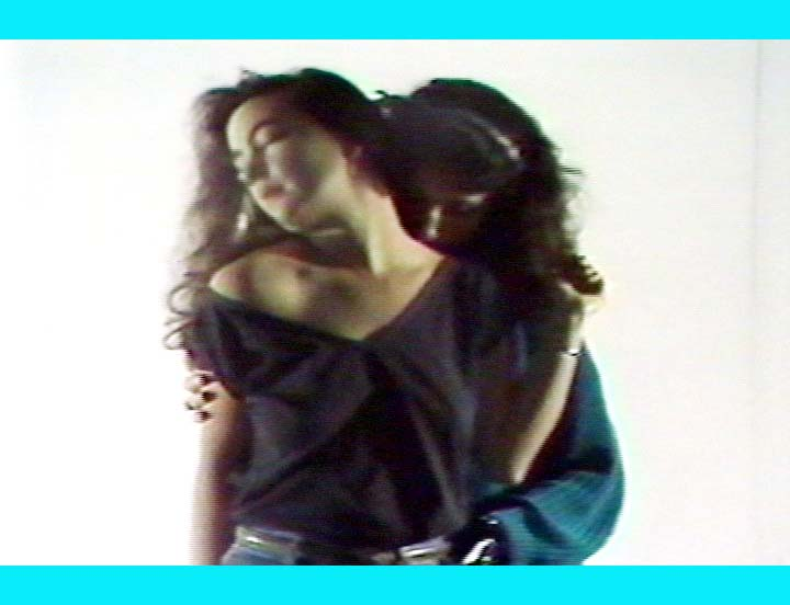 video still from Gay Tape: Butch and Femme by Cecilia Dougherty
