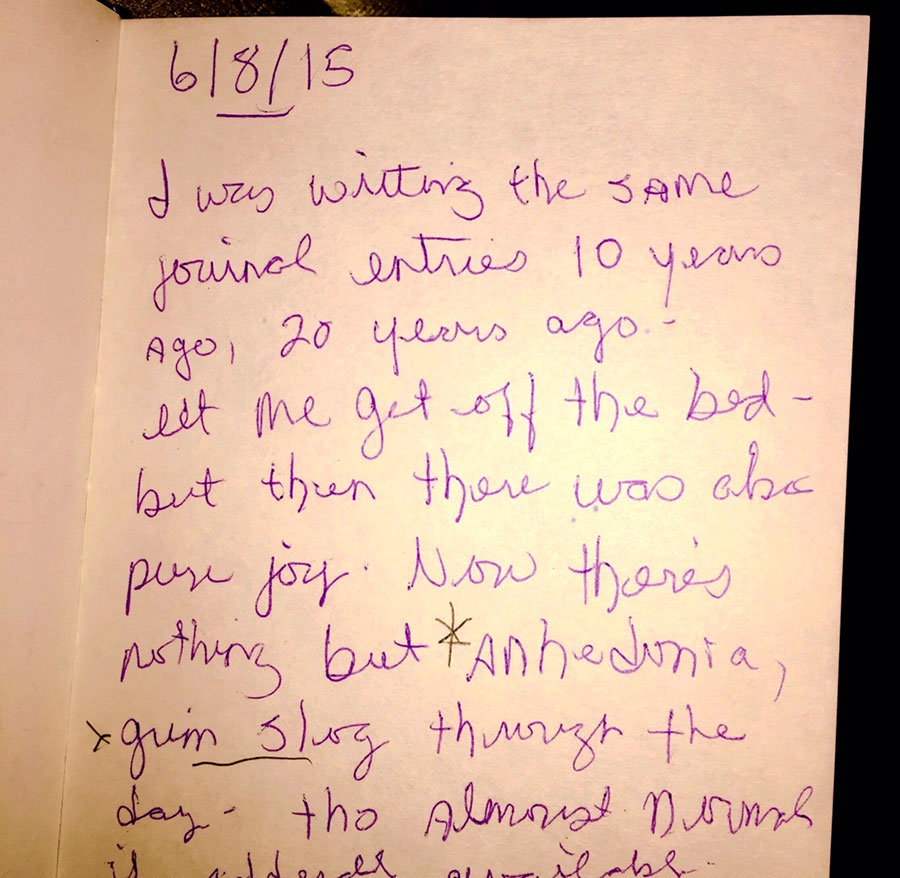 a page from a notebook
