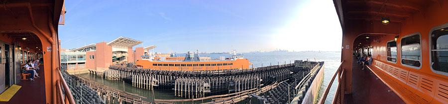 Staten Island Ferry observation deck