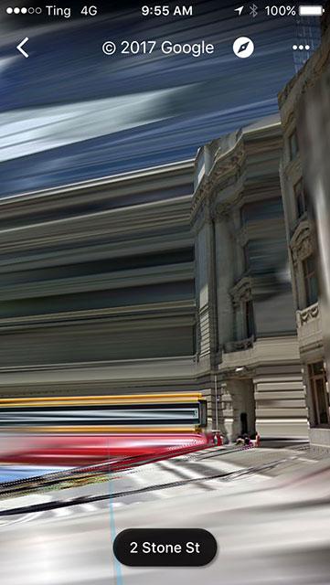 iPhone photo lower Manhattan